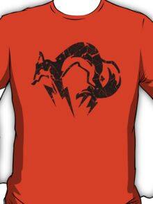 Foxhound V2 (Black) T-Shirt