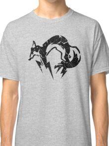 Foxhound V2 (Black) Classic T-Shirt