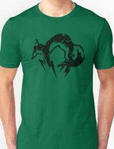 Foxhound V2 (Black) Unisex T-Shirt