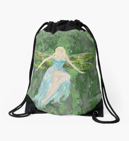 Fairy Drawstring Bag