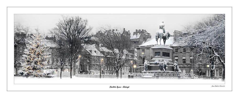 Charlotte Square - Edinburgh by Chris Clark