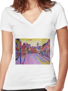 Killarney, Kerry Women's Fitted V-Neck T-Shirt