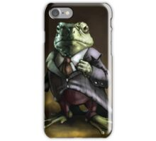 Noble Lord Frog iPhone Case/Skin