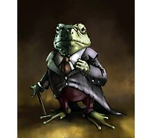 Noble Lord Frog Photographic Print