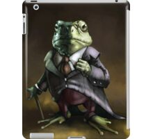 Noble Lord Frog iPad Case/Skin