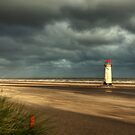 Talacre Beach by Adrian Evans