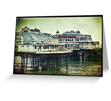 Brighton's Victorian West Pier Greeting Card