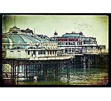 Brighton's Victorian West Pier Photographic Print