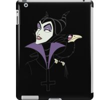 satanic maleficent iPad Case/Skin