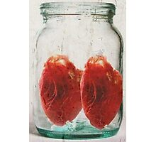 jar of hearts Photographic Print