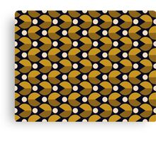 Endless Pac-Man Print Canvas Print