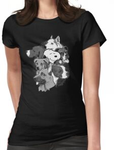 Doggies! Womens Fitted T-Shirt