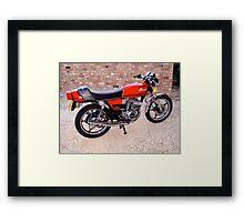 1970s retro  Framed Print