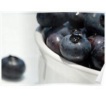Blueberries! Poster