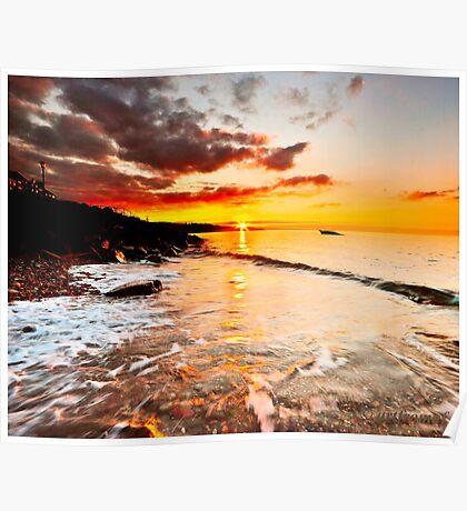 Dysart sunrise first light. Poster