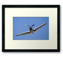 P40 Warhawk Framed Print