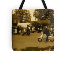 scooter rally  Tote Bag