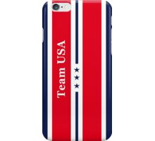 Team USA Print Posters Decoration iPhone Case/Skin