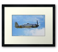 Hawker Sea Fury T20s Framed Print