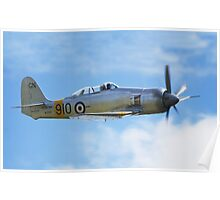 Hawker Sea Fury T20s Poster