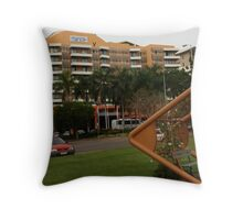 We stayed at the best places (most of the time) Throw Pillow