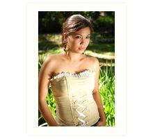 Model shoot in La Mesa Ecopark 23 Art Print