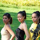 Gorgeous looking models in La Mesa Ecopark, Philippines by walterericsy