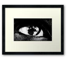 He had a keen eye.......... Framed Print