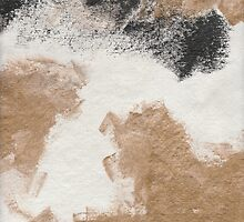 Sand Storm - Textured Abstraction by angelique devitte