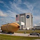 Last Shuttle External Fuel Tank Arrives at KSC by Per Hansen