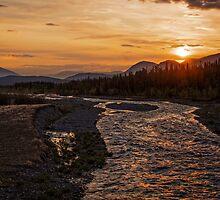 Solstice Sunrise on Quill Creek by Yukondick