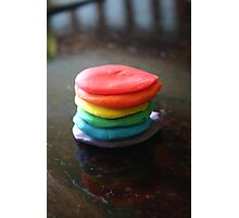 Playdough Pancake Photographic Print