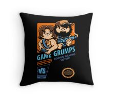 Game Grumps NES Cover Throw Pillow