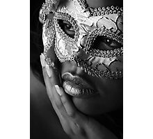 Masked Photographic Print
