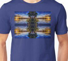 Sun sets blue Unisex T-Shirt