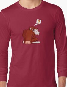 Monkey WTF??? Long Sleeve T-Shirt