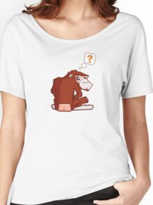 Monkey WTF??? Women's Relaxed Fit T-Shirt