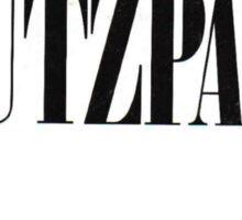 CHUTZPAH Sticker