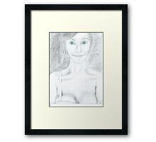 Cleo, the Man Snatcher Framed Print