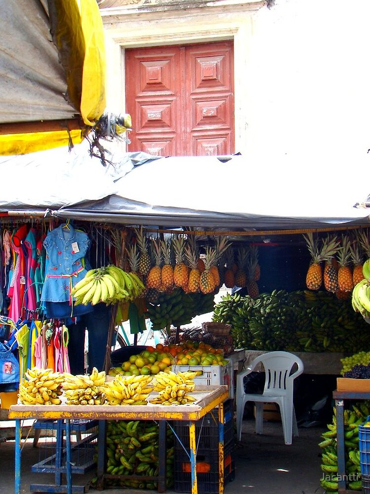 Market in front of Church-Goiana-PE-Brazil(by Jacantti) by Jacantti
