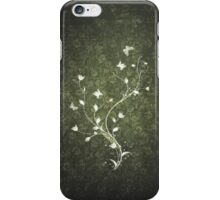 Floral vintage [green] iPhone Case/Skin