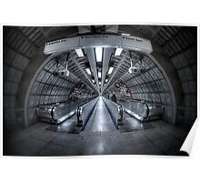 Throught The Tunnel Poster