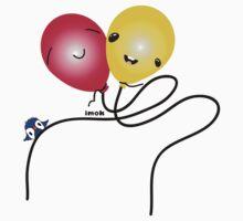 Balloony Day Baby Tee