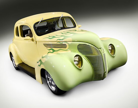 1938 Hot Rod Ford Coupe by ArtNudePhotos