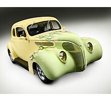 1938 Hot Rod Ford Coupe Photographic Print