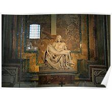 Michelangelo's La Pietra. Poster