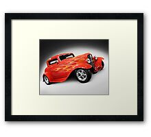 1932 Hot Rod Ford Coupe Framed Print