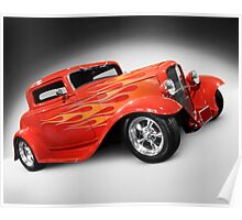 1932 Hot Rod Ford Coupe Poster