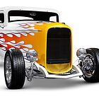 Hot rod Ford Hi-Boy Coupe 1932 by ArtNudePhotos