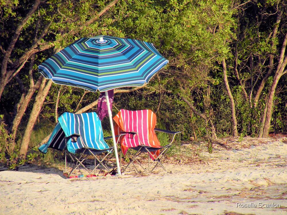 Colorful Beach Day by Rosalie Scanlon